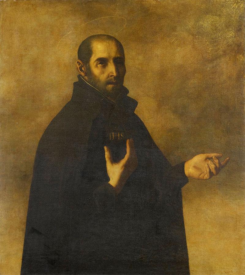 San Ignacio de Loyola. (Francisco de Zurbarán, c.1634-50)